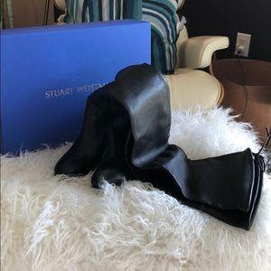 Stuart Weitzman Over the Knee Leather Boot